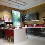 Kuchnia łączona z salonem